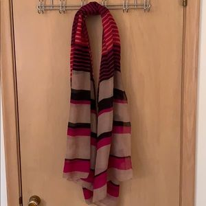Nordstrom Lightweight Striped Scarf